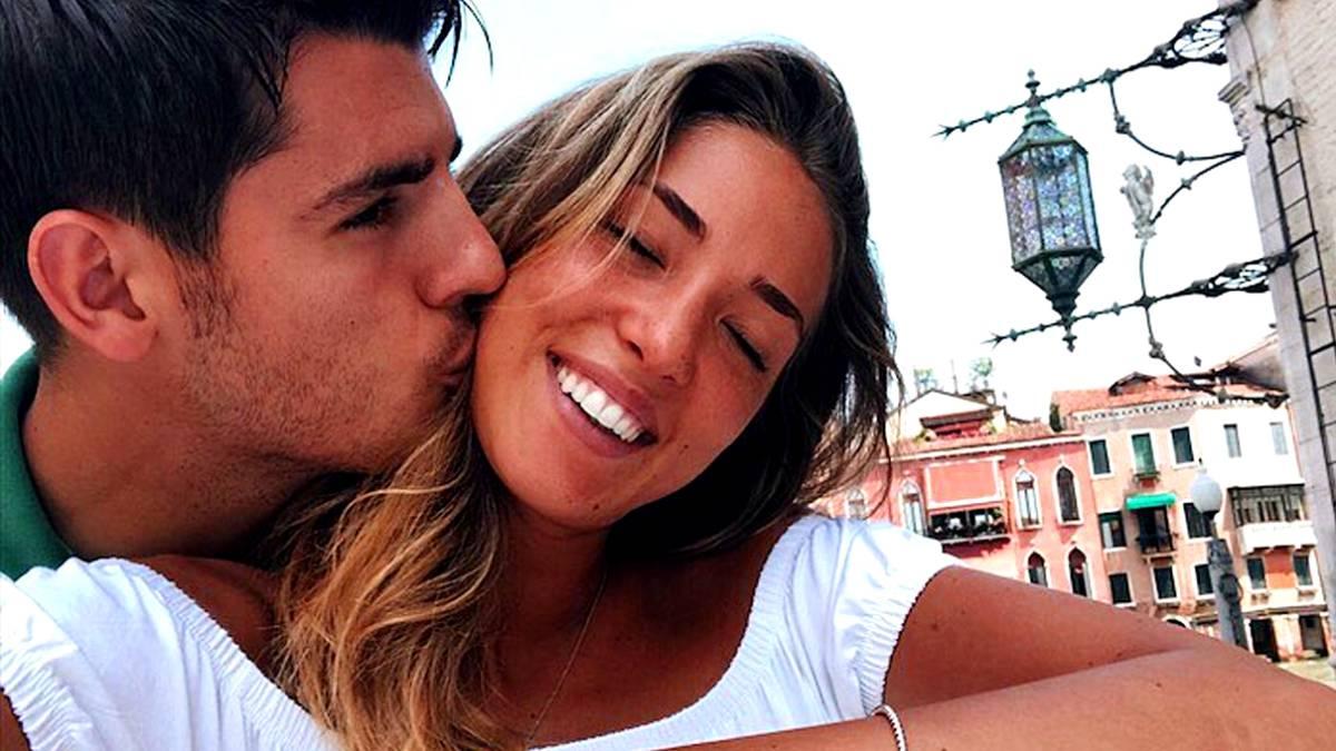 Alice Campello dan Alvaro Morata